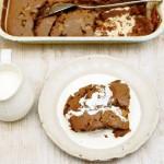 Kladdig choklad och fudgekaka