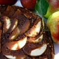 Mjolkchokladkaka med applen